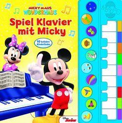 Spiel Klavier mit Micky – Disney Junior Liederbuch mit Klaviertastatur – Vor- und Nachspielfunktion