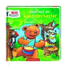 Spiel mit im Wald-Orchester: Klopfen, stampfen, singen! von Grimm,  Sandra, Völker,  Kerstin