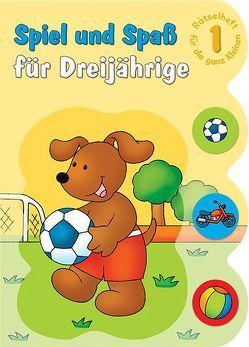 Spiel und Spaß für Dreijährige Rätselheft 1