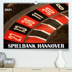 SPIELBANK HANNOVER (Premium, hochwertiger DIN A2 Wandkalender 2021, Kunstdruck in Hochglanz) von SchnelleWelten