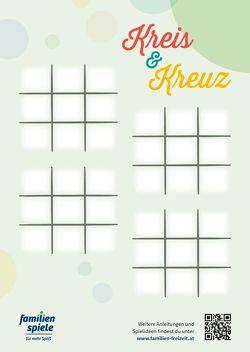 """Spielblock """"Kreis & Kreuz"""" von Familien Freizeit ffg OG"""