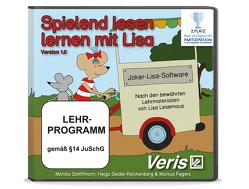 Spielend lesen lernen mit Lisa von Fegers,  Markus, Schiffmann,  Monika, Seidel-Reichenberg,  Helga