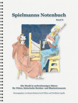 Spielmanns Notenbuch Band 2 von Capelle,  Friedhelm, Govil-Willers,  Kamini B, Lenzen,  H G