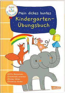 Spiel+Spaß für KiTa-Kinder: Mein dickes buntes Kindergarten-Übungsbuch von Greune,  Mascha, Himmel,  Anna