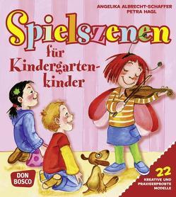 Spielszenen für Kindergartenkinder von Albrecht-Schaffer,  Angelika