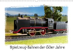Spielzeug-Bahnen der 50er Jahre (Wandkalender 2020 DIN A3 quer) von Huschka,  Klaus-Peter