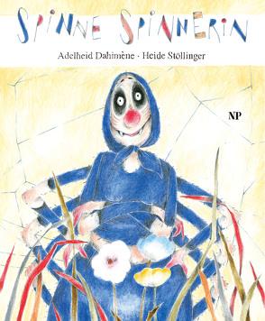 Spinne Spinnerin von Dahiméne,  Adelheid, Stöllinger,  Heide