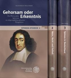 Spinoza-Studien von Walther,  Manfred