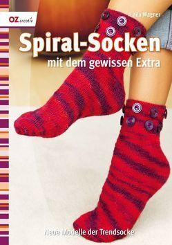 Spiralsocken mit dem gewissen Extra von Wagner,  Laila