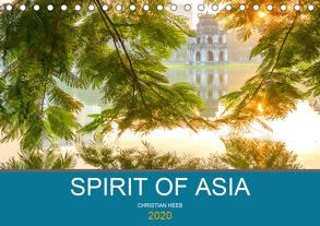 Spirit of Asia (Tischkalender 2020 DIN A5 quer) von Heeb,  Christian