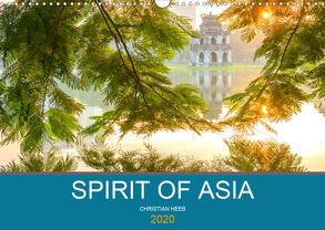 Spirit of Asia (Wandkalender 2020 DIN A3 quer) von Heeb,  Christian