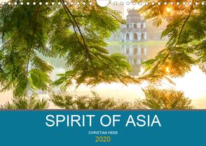 Spirit of Asia (Wandkalender 2020 DIN A4 quer) von Heeb,  Christian