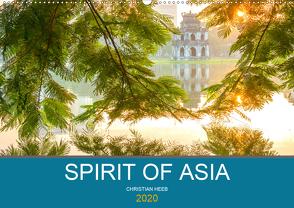 Spirit of Asia (Premium, hochwertiger DIN A2 Wandkalender 2020, Kunstdruck in Hochglanz) von Heeb,  Christian