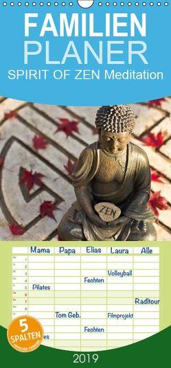 SPIRIT OF ZEN Meditation – Familienplaner hoch (Wandkalender 2019 , 21 cm x 45 cm, hoch) von Wuchenauer pixelrohkost.de,  Markus