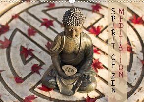 SPIRIT OF ZEN Meditation (Wandkalender 2018 DIN A3 quer) von Wuchenauer pixelrohkost.de,  Markus