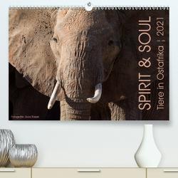 SPIRIT & SOUL – Tiere in Ostafrika (Premium, hochwertiger DIN A2 Wandkalender 2021, Kunstdruck in Hochglanz) von Trüssel,  Silvia