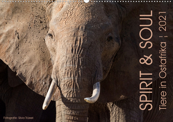 SPIRIT & SOUL – Tiere in Ostafrika (Wandkalender 2021 DIN A2 quer) von Trüssel,  Silvia