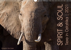 SPIRIT & SOUL – Tiere in Ostafrika (Wandkalender 2021 DIN A3 quer) von Trüssel,  Silvia