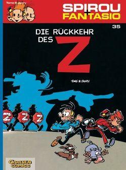 Spirou & Fantasio 35: Die Rückkehr des Z von Janry, Tome
