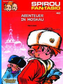 Spirou und Fantasio 40: Abenteuer in Moskau von Janry, Tome