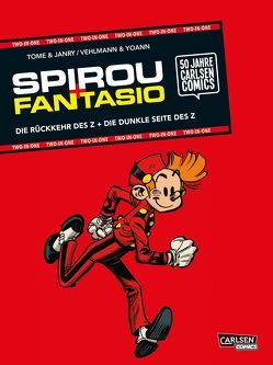 Spirou & Fantasio: TWO-IN-ONE von Janry, Le Comte,  Marcel, Müller,  Peter, Tome, Vehlmann,  Fabien, Yoann