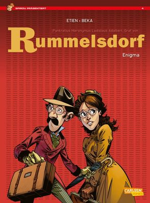 Spirou präsentiert 4: Rummelsdorf 1: Enigma von Beka, Etien,  David, Le Comte,  Marcel