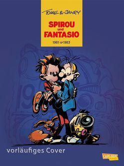 Spirou und Fantasio Gesamtausgabe 13: 1981-1983 von Hein,  Michael, Janry, Tome