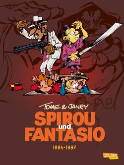 Spirou und Fantasio Gesamtausgabe 14: 1984-1987 von Janry, Müller,  Peter, Tome