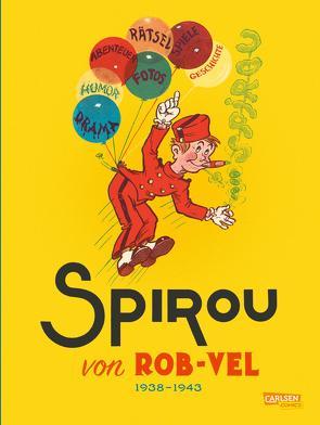 Spirou und Fantasio Gesamtausgabe – Classic 1: 1938-1943 von Hein,  Michael, Rob-Vel