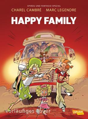 Spirou und Fantasio Spezial 35: Happy Family von Cambré,  Charel, Le Comte,  Marcel, Legendre,  Marc