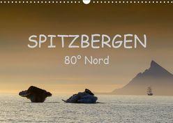 Spitzbergen 80° Nord (Wandkalender 2019 DIN A3 quer) von Weise,  Ralf