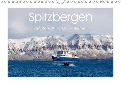 Spitzbergen – Landschaft – Eis – Tierwelt (Wandkalender 2019 DIN A4 quer) von Huppert,  Andreas