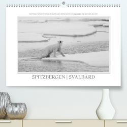 Spitzbergen Svalbard (Premium, hochwertiger DIN A2 Wandkalender 2021, Kunstdruck in Hochglanz) von Gerlach GDT,  Ingo