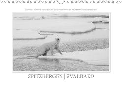 Spitzbergen Svalbard (Wandkalender 2018 DIN A4 quer) von Gerlach GDT,  Ingo