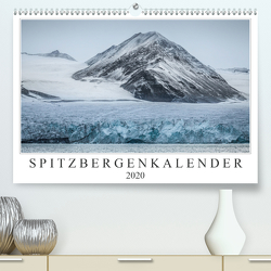 Spitzbergenkalender (Premium, hochwertiger DIN A2 Wandkalender 2020, Kunstdruck in Hochglanz) von Worm,  Sebastian