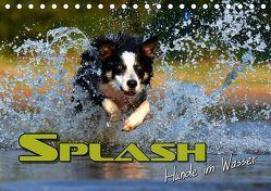 SPLASH – Hunde im Wasser (Tischkalender 2019 DIN A5 quer) von Bleicher,  Renate