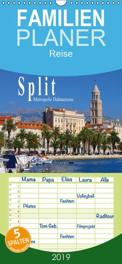 Split Metropole Dalmatiens – Familienplaner hoch (Wandkalender 2019 , 21 cm x 45 cm, hoch) von LianeM