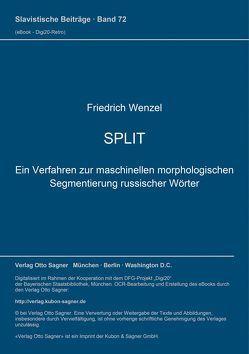 SPLIT von Wenzel,  Friedrich
