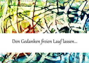 Spontane Malerei (Wandkalender 2020 DIN A3 quer) von L.,  Barbara