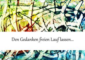 Spontane Malerei (Wandkalender 2020 DIN A4 quer) von L.,  Barbara