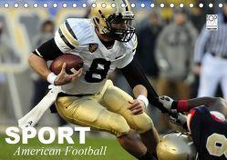 Sport. American Football (Tischkalender 2019 DIN A5 quer) von Stanzer,  Elisabeth