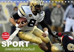 Sport. American Football (Tischkalender 2021 DIN A5 quer) von Stanzer,  Elisabeth