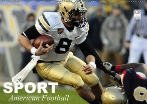 Sport. American Football (Wandkalender 2018 DIN A2 quer) von Stanzer,  Elisabeth