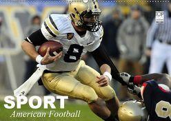 Sport. American Football (Wandkalender 2019 DIN A2 quer) von Stanzer,  Elisabeth