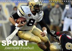Sport. American Football (Wandkalender 2019 DIN A4 quer) von Stanzer,  Elisabeth