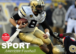 Sport. American Football (Wandkalender 2021 DIN A2 quer) von Stanzer,  Elisabeth