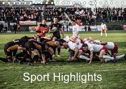 Sport Highlights (Tischkalender 2018 DIN A5 quer) von Bradel,  Detlef