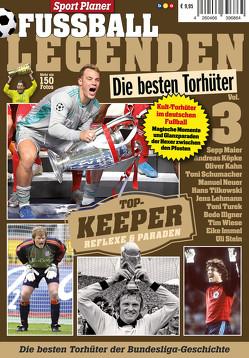 Sport Planer FUSSBALL LEGENDEN Vol. 3: Die besten Torhüter von Buss,  Oliver