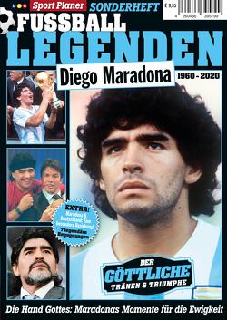 Sport Planer SONDERHEFT FUSSBALL LEGENDEN: Diego Maradona von Buss,  Oliver