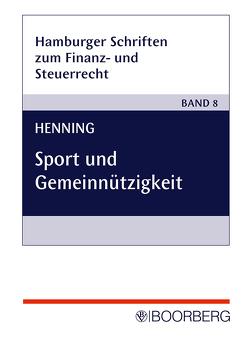 Sport und Gemeinnützigkeit von Henning,  Evelyn